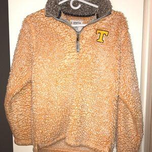 Jackets & Blazers - UT sherpa fuzzy quarter zip pullover